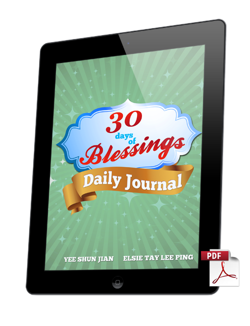 30 Days of Blessings Daily Journal