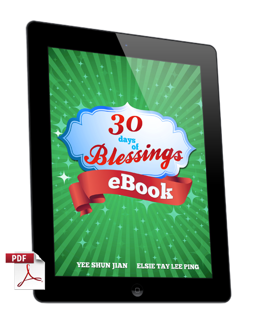 30 Days of Blessings eBook