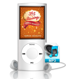 Sample Audio Track from 365 Days of Blessings Audiobook