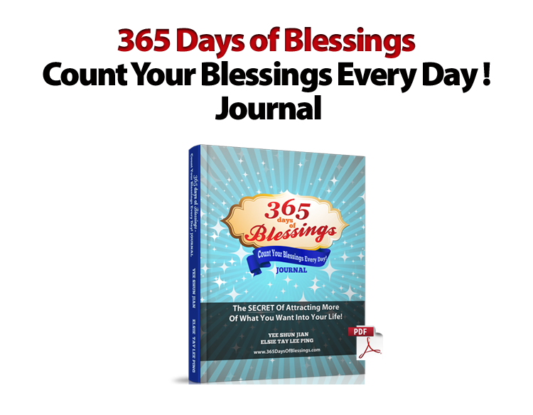 Count Your Blessings Every Day! Journal