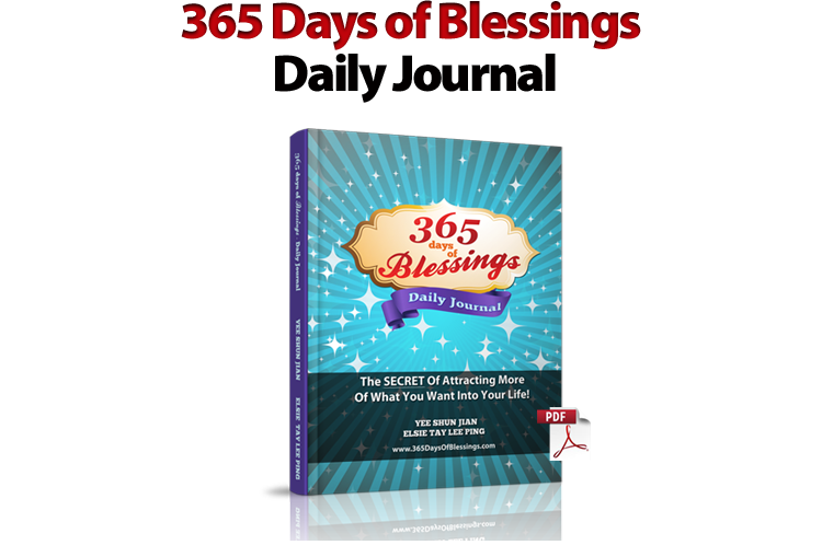 365 Days of Blessings Daily Journal
