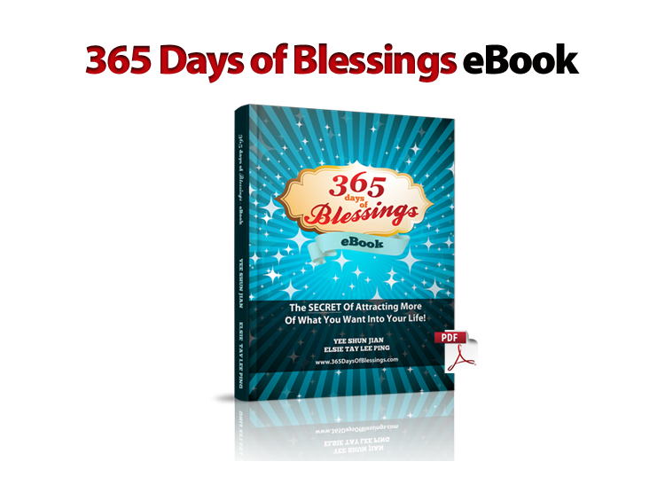 365 Days of Blessings eBook