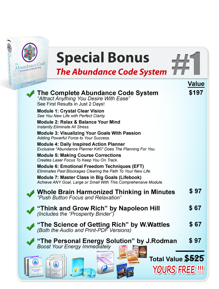 365 Days of Blessings Special Bonus #1